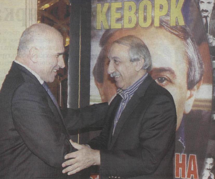 Кеворк Кеворкян, Тайните на телевизията