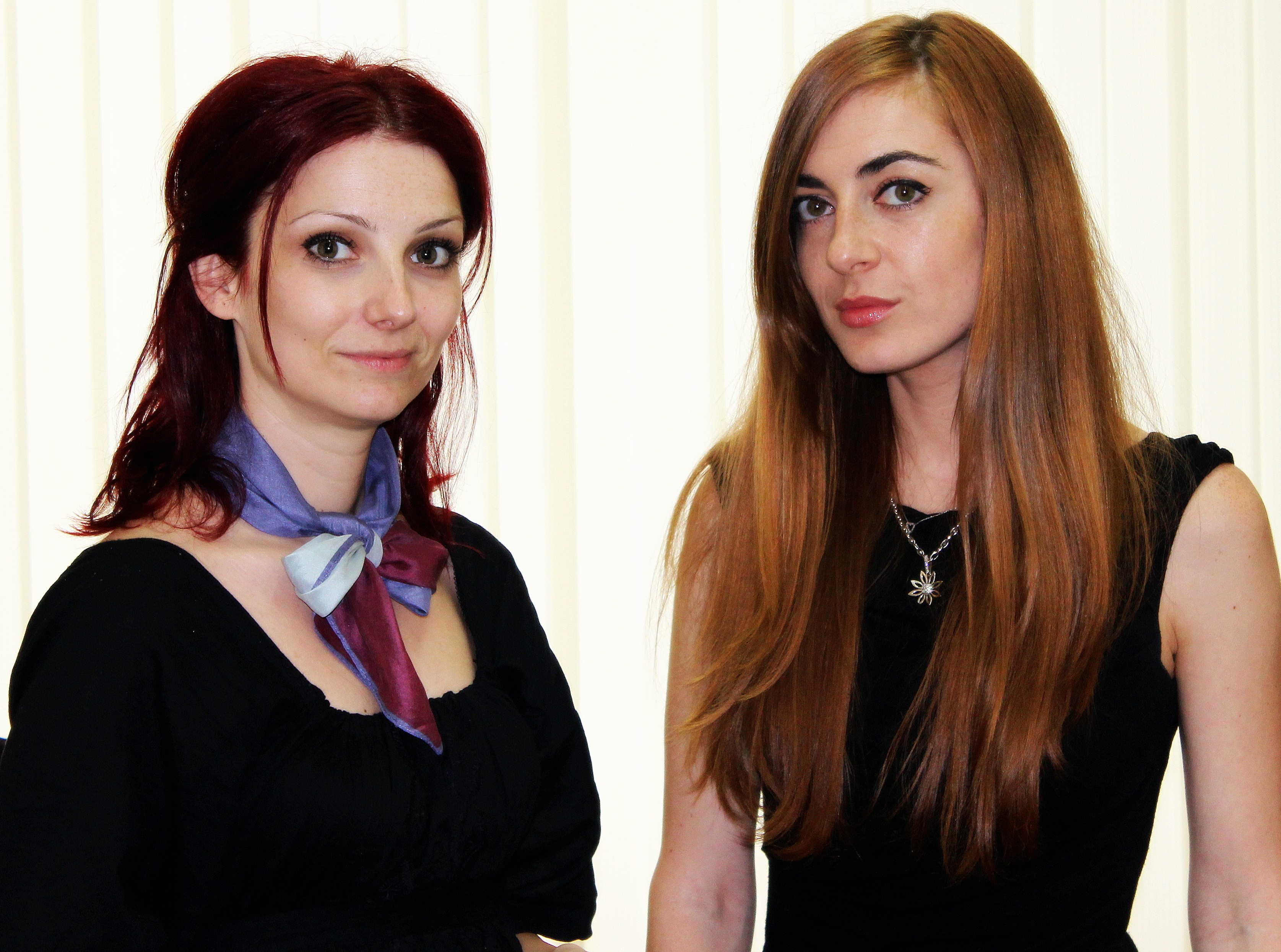 (отляво надясно) Кремена Георгиева и Надежда Михова